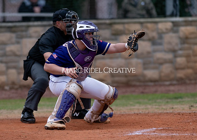 Broughton varsity baseball vs Holly Springs. March 5, 2020. D4S_2953