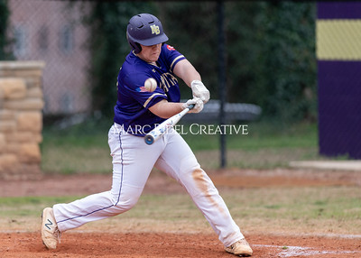 Broughton varsity baseball vs Holly Springs. March 5, 2020. D4S_3029