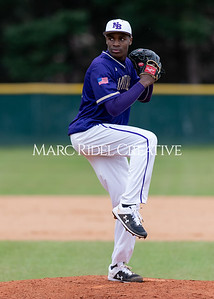 Broughton varsity baseball vs Holly Springs. March 5, 2020. D4S_2968
