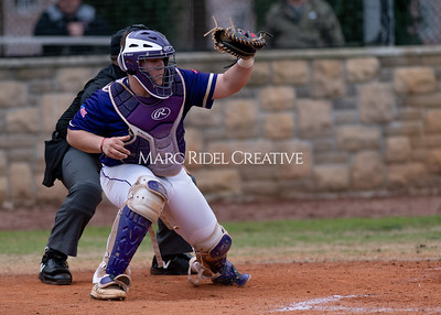 Broughton varsity baseball vs Holly Springs. March 5, 2020. D4S_2955