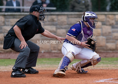 Broughton varsity baseball vs Holly Springs. March 5, 2020. D4S_2967