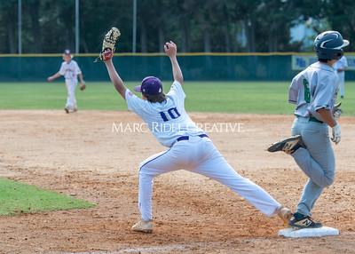 Broughton JV baseball vs Cardinal Gibbons. May 25, 2021