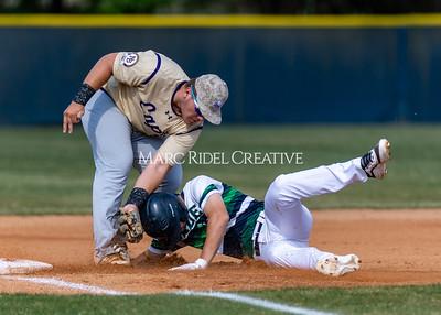 Broughton varsity baseball vs Leesville. May 20, 2021