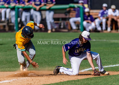 Broughton varsity baseball vs Cardinal Gibbons. May 27, 2021