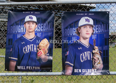 Broughton varsity baseball doubleheader vs Enloe. Senior night. May 14, 2021