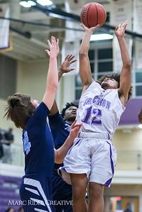 Broughton JV basketball vs Millbrook. February 8. 2018.
