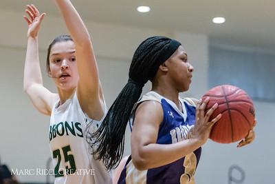 Broughton girl's varsity vs. Cardinal Gibbons. February 2, 2018.