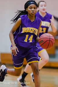 Broughton JV girl's basketball vs Leesville. January 29, 2018.