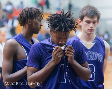 Broughton varsity basketball at Southeast Raleigh. December 15, 2017.