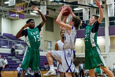 Broughton JV basketball vs Cary. December 5, 2017.