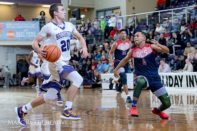 Broughton boy's varsity vs Downey Christian opening game of the John Wall Invitational. December 27, 2017.
