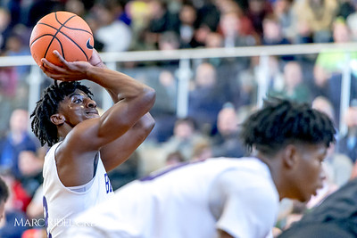 Broughton varsity boy's basketball vs Greenfield. John Wall Holiday Invitational. December 28, 2017.