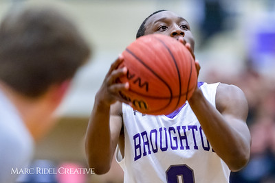 Broughton varsity basketball vs. Heritage. Round four, 4A state playoffs. February 27, 2018.