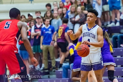 Broughton boy's varsity basketball vs. Jordan. Second round playoffs. February 22, 2018.
