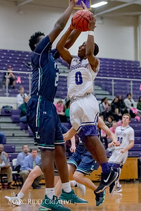 Broughton varsity boy's basketball vs Leesville. January 30, 2018.