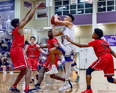 Broughton varsity basketball vs Middle Creek. December 7, 2017.