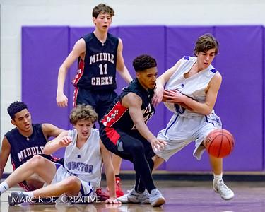 Broughton JV basketball vs Middle Creek. December 7, 2017.