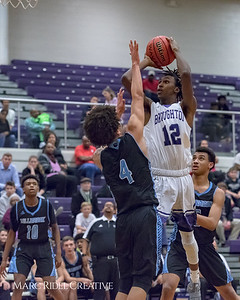 Broughton varsity basketball vs. Millbrook. January 12, 2018.