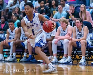 Broughton boy's varsity basketball vs Millbrook. Cap-7 Tournament Championship. February 16, 2018.