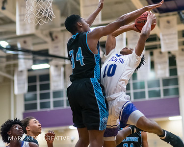 Broughton boy's varsity basketball vs Millbrook. Cap-7 Tournament Championship. February 16, 2018.