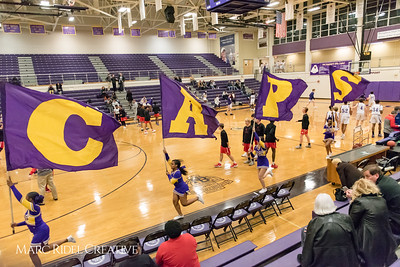 Broughton JV boys basketball vs Sanderson. January 8, 2018.