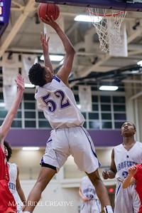 Broughton JV boys basketball vs Sanderson. January 8, 2018.