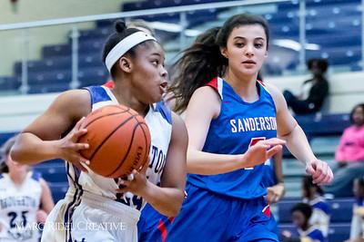 Broughton Lady Caps Senior Night vs. Sanderson. February 6, 2018.