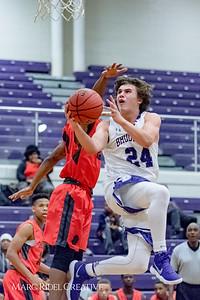 Broughton Varsity Basketball vs Southeast Durham. November 14, 2017.