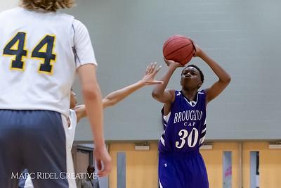 Broughton boys JV basketball vs Apex.  January 28, 2019. MRC_2367