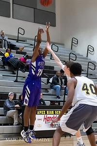 Broughton boys JV basketball vs Apex.  January 28, 2019. MRC_2361