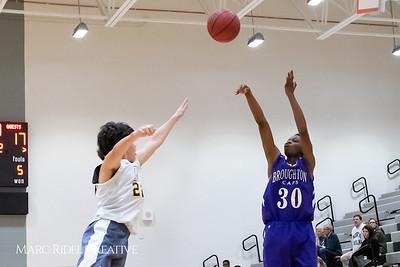 Broughton boys JV basketball vs Apex.  January 28, 2019. MRC_2329