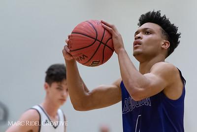 Broughton boys JV basketball vs Apex.  January 28, 2019. 750_8966