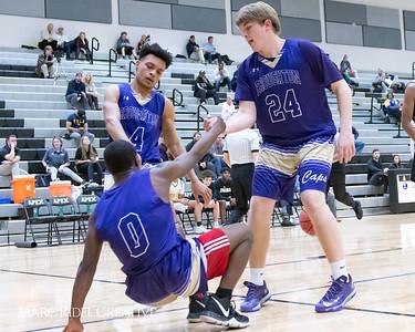 Broughton boys JV basketball vs Apex.  January 28, 2019. MRC_2720