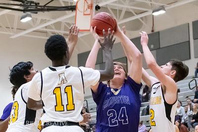 Broughton boys JV basketball vs Apex.  January 28, 2019. MRC_2746