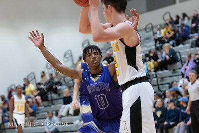 Broughton boys JV basketball vs Apex.  January 28, 2019. 750_9027