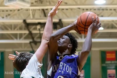 Broughton JV boys basketball vs Cardinal Gibbons. February 7, 2019. MRC_3876