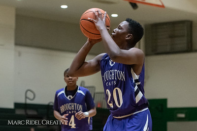 Broughton JV boys basketball vs Cardinal Gibbons. February 7, 2019. 750_3262