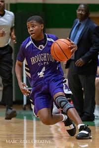 Broughton JV boys basketball vs Cardinal Gibbons. February 7, 2019. MRC_3870