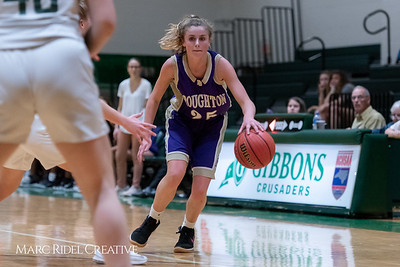 Broughton JV girls basketball vs Cardinal Gibbons. February 7, 2019. 750_3033