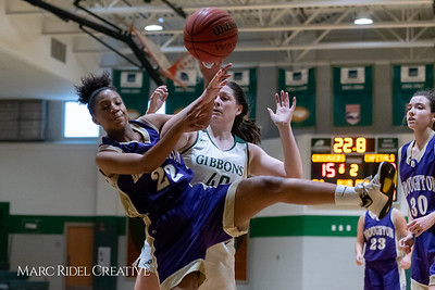 Broughton JV girls basketball vs Cardinal Gibbons. February 7, 2019. 750_3059