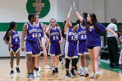 Broughton JV girls basketball vs Cardinal Gibbons. February 7, 2019. 750_3079