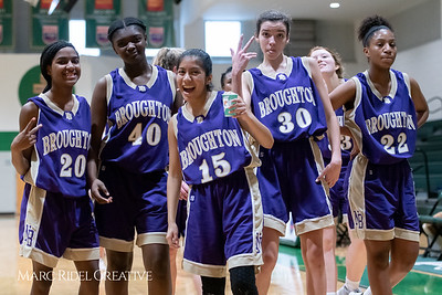 Broughton JV girls basketball vs Cardinal Gibbons. February 7, 2019. 750_3090