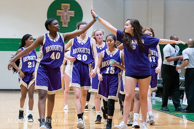 Broughton JV girls basketball vs Cardinal Gibbons. February 7, 2019. 750_3080