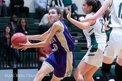 Broughton JV girls basketball vs Cardinal Gibbons. February 7, 2019. 750_2992