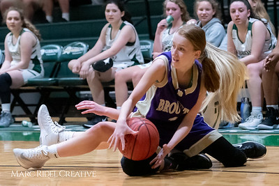 Broughton JV girls basketball vs Cardinal Gibbons. February 7, 2019. 750_3050