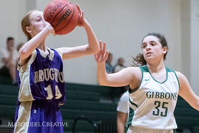 Broughton JV girls basketball vs Cardinal Gibbons. February 7, 2019. 750_3037