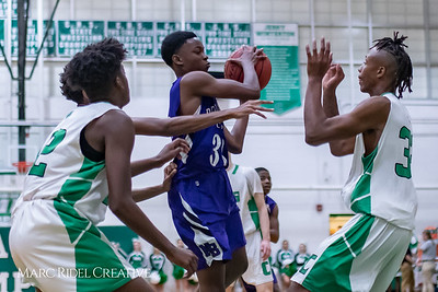 Broughton JV basketball at Enloe. November 27, 2018, MRC_1488