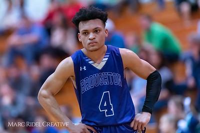 Broughton basketball at Leesville. February 5, 2019. 750_2588