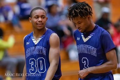 Broughton basketball at Leesville. February 5, 2019. 750_2657