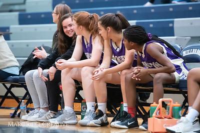Broughton JV girls basketball vs Millbrook. January 22, 2019. 750_5679
